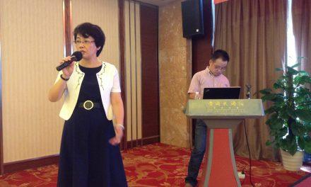 本會向江蘇紅十字會捐款,為南京癌友講課