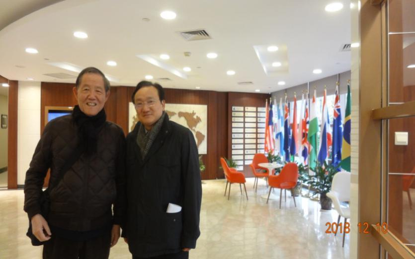 受邀参观上海中医药大学