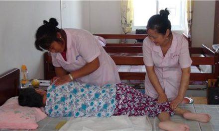 護理老年臥床患者的合理體位